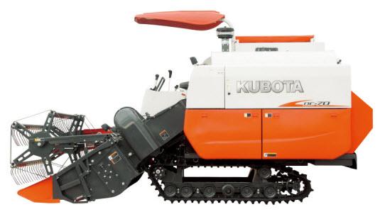Công dụng của máy gặt kubota hiện nay